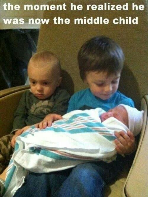The funny thing about birth order