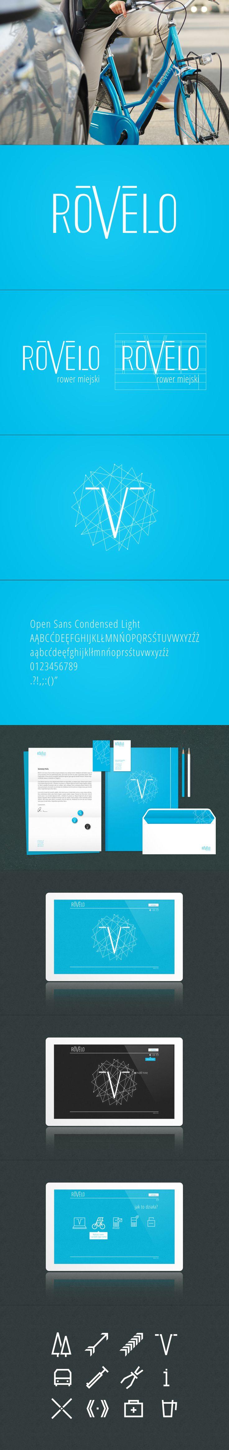 Rovelo. #branding #design #logo #identity #corporate #id #print #pleo