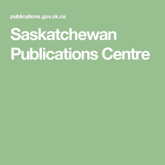 Saskatchewan Publications Centre