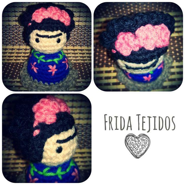 Frida Kahlo amigurumi ♥♥♥ Sweet Frida #Frida Kahlo