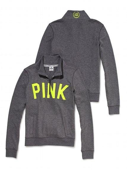 Half-Zip Pullover - Victoria's Secret PINK - Victoria's Secret $46.50