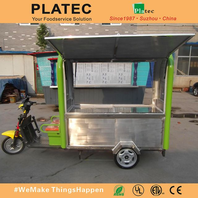Source Wholesale china stainless steel Electric tricycle mobile food carts for sale on m.alibaba.com