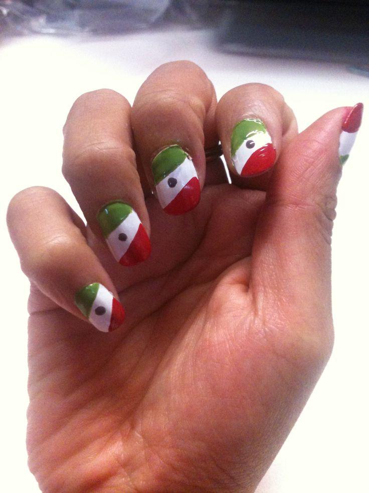 13 best Diseños de uñas para el mes de Septiembre images on ...