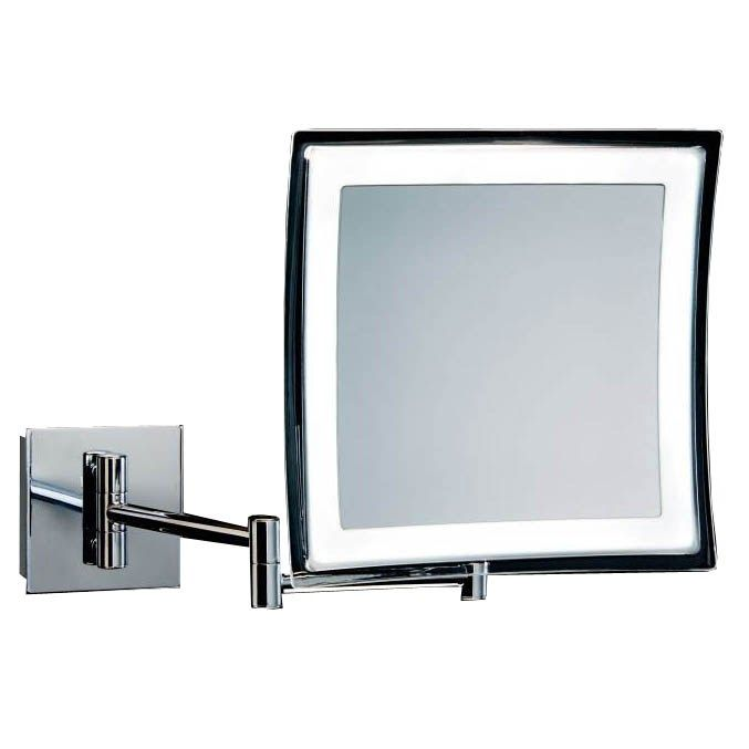 Good WS Bath Collections WS Spiegel Hard Wired x Magnifying Makeup Mirror