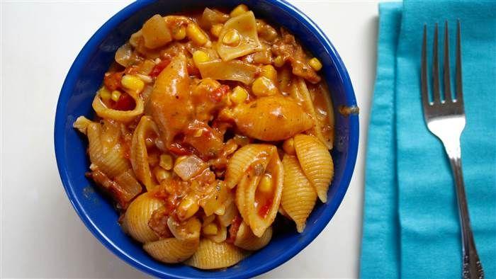 One-Pot Barbecue Chicken Pasta