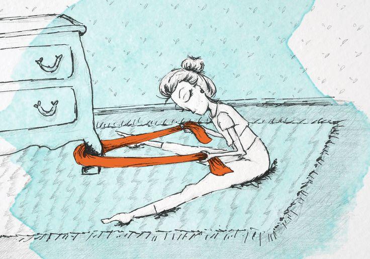 5 exercícios para alongar a sua coluna usando apenas uma faixa