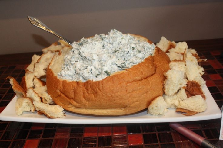 Spinach Dip — Great Appetizer    by Dana Patterson on Feb 06, 2012 1    I always take something to anything we are invited to.  I feel like the host has gone through so much effort to make it a great evening, the least I can do is bring something.  Most of the time it's either a dessert or appetizer.  If I don't have a lot of time, I usually make this.  It's so delicious and EVERYONE asks for the recipe.  This past weekend, I helped host my friends bridal shower.  I brought this spinach dip…