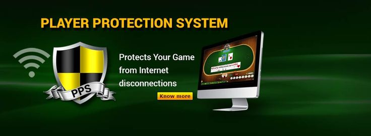 #ClassicRummy Introduces #rummy PLAYER PROTECTION SYSTEM which protects your game from Internet disconnections. https://www.classicrummy.com/rummy-player-protection?link_name=CR-12