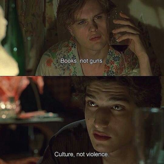 The Dreamers. Really thoughtful movie