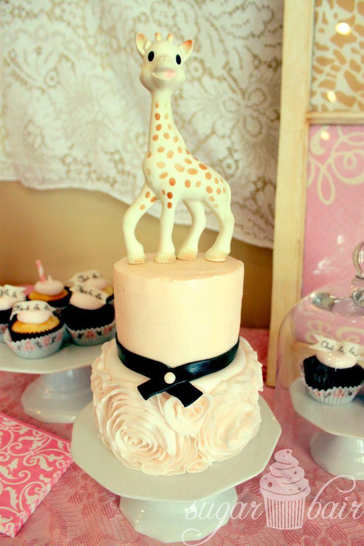 Sophie La Giraffe Cake Decorations