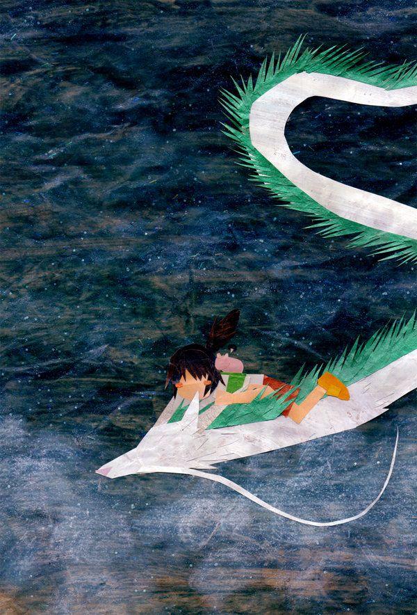 Ghibli Collage Fanart | The Mary Sue