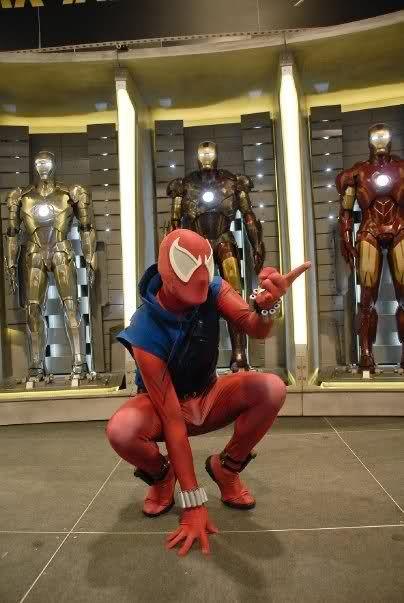 Resultado de imagen para araña escarlata cosplay
