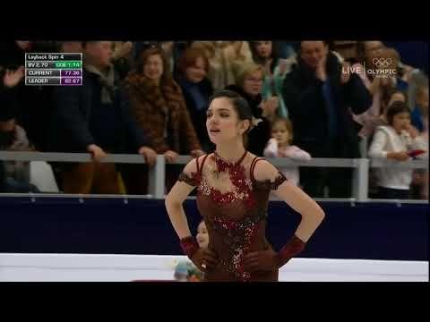 Evgenia Medvedeva FS 2018 European Championships - YouTube