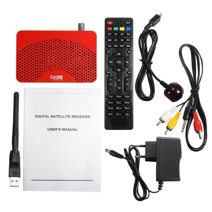HD 1080P Segnale TV digitale DVB-S2 DVB-S2 ricevitore con controllo codice decodificatore remoto