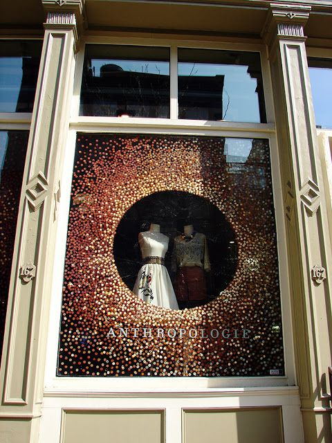 "Beautiful Window Displays!: Anthropologie ""Uncorked"" Window Displays"