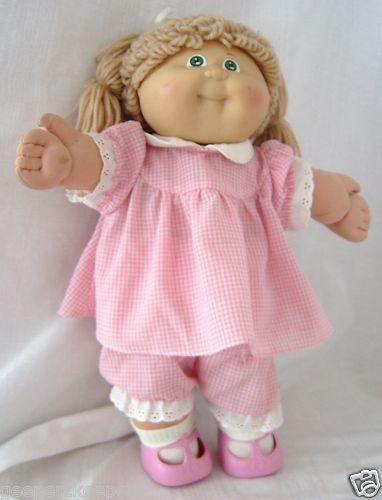 Cabbage Patch Doll - what a craze in the 80's ~ Oooo the things I went through to get my daughter a doll!  I'll never forget her name... Nadine.  :-)