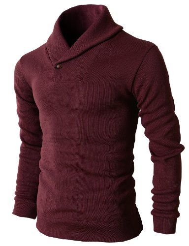 H2H Men's One Button Point Shawl Coll... $33.99 #bestseller