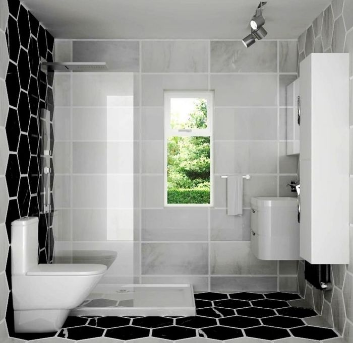 1862 best salle de bain images on pinterest - Carrelage salle de bains design ...