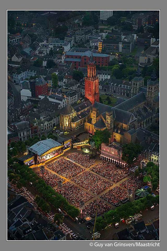 Vrijthof Square, Maastricht, Netherlands - see it like this for Andre Rieu's homecoming in 2016, and we have the ticket packages to help you get there!