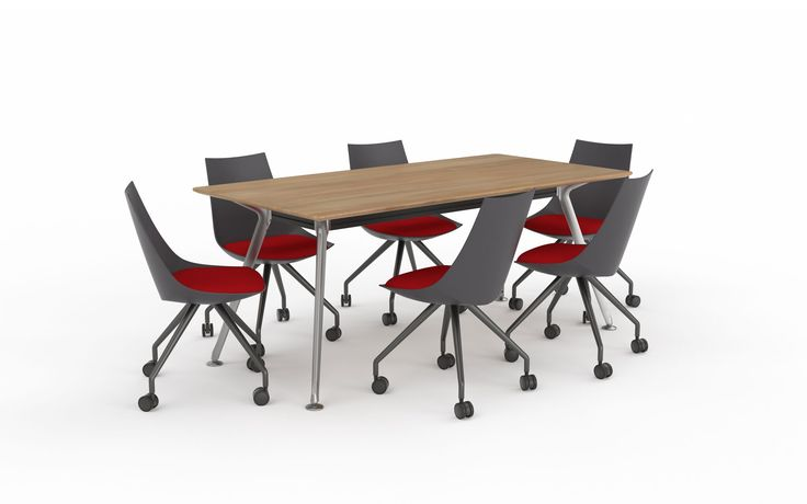 Combine these to create the perfect meeting room setting.  http://www.jpofficeworkstations.com.au/meeting-tables/