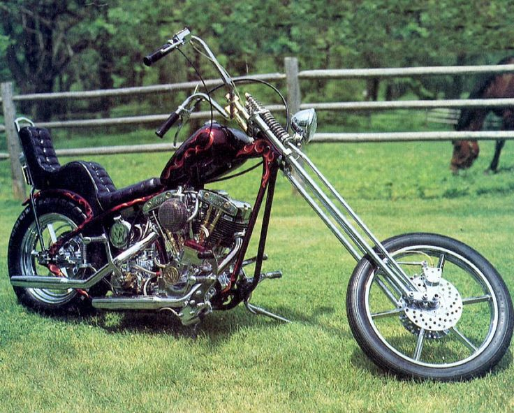 Old School Harley Choppers | Miss the ol'school HD Choppers - Harley Davidson Forums