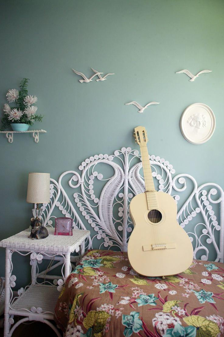 bohemian style bedroom