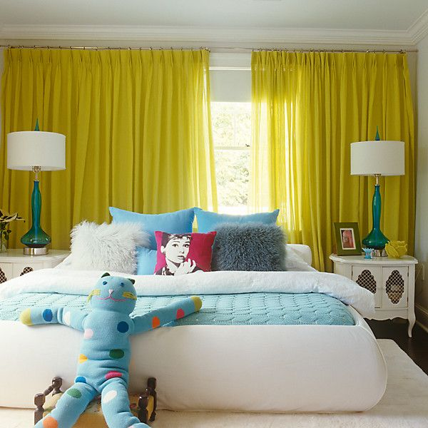 Introduce a bit of chartreuse into your teens room, might just be the perk they've been asking for!