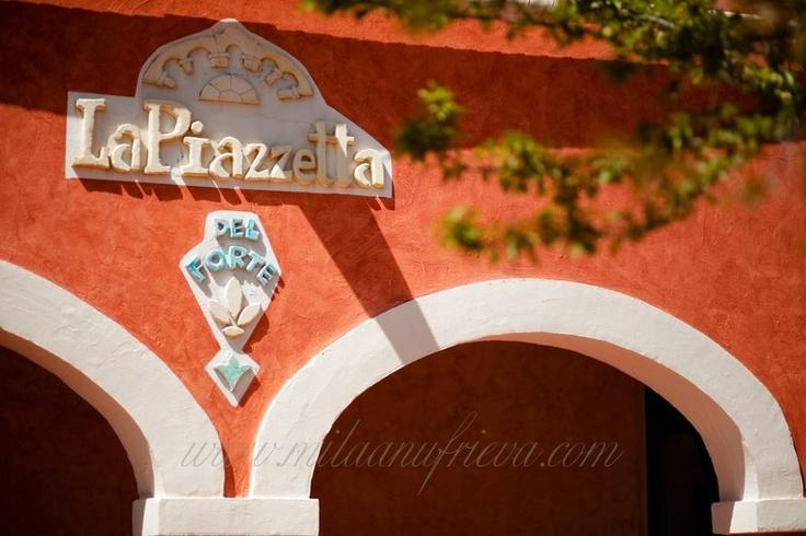 Piazza Maria Luigia at #Forte_Village #FVexperience