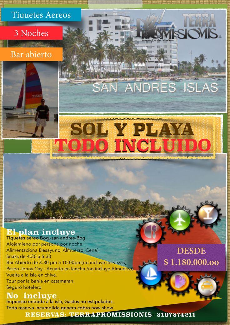 Visita San Andres Islas, el mar de los 7 colores