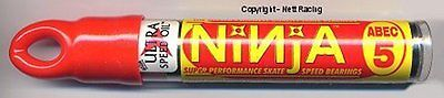 Other Inline and Roller Skating 1301: Ninja Abec 5 608 8Mm Inline Speed Skate Bearings - Qty 12 -> BUY IT NOW ONLY: $64.0 on eBay!