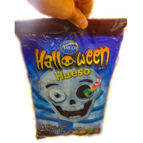 Caramelos Halloween Hueso Bolsa - Barata La Golosineria