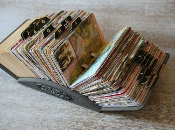 ~ Ultra Creative Rolodex Journal ~ Memories at Your Fingertips...