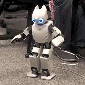 "A Robotic Toddler Uses Deep Learning to Walk | MIT Technology Review - Instead of being programmed, a robot uses brain-inspired algorithms to ""imagine"" doing tasks before trying them in the real world."