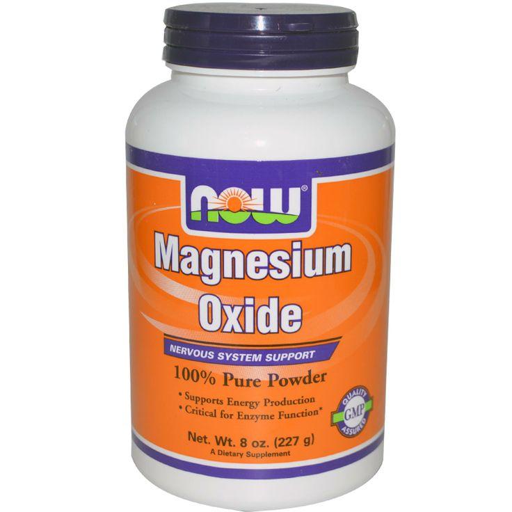 Now Foods, Magnesium Oxide, 8 oz (227 g)