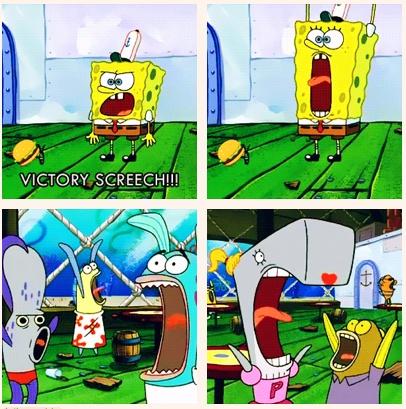 Spongebob Squarepants Victory Screech 17+ best images...