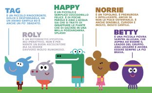 Il Poster personaggi di Hey Duggee | Cartoonito IT