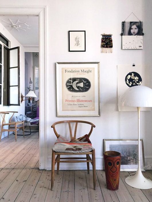 friday finds / artwork and iconic furniture
