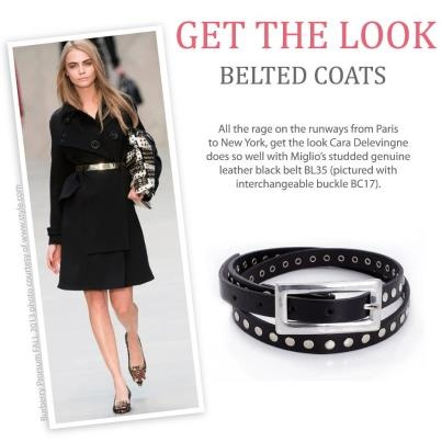 The skinny wrap around belt from the Calypso collection: BL35 with the interchangeable buckle BC17  #gorgeous