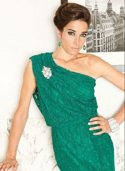 Vestido para la gala de Martin Fierro