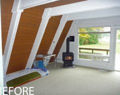 A-Frame Remodel | Stoner Architects | Seattle architecte résidentiel et commercial …