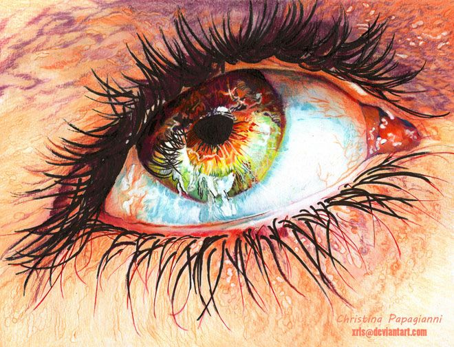 25 Mind Blowing and Hyper-Realistic Color Pencil Drawings by Christina Papagianni. Follow us www.pinterest.com/webneel