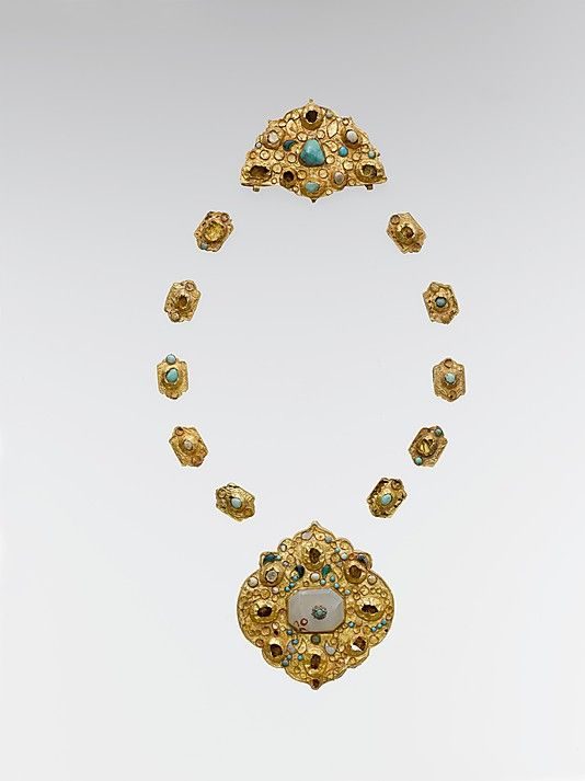 Necklace late 14th–16th century Iran or Central Asia