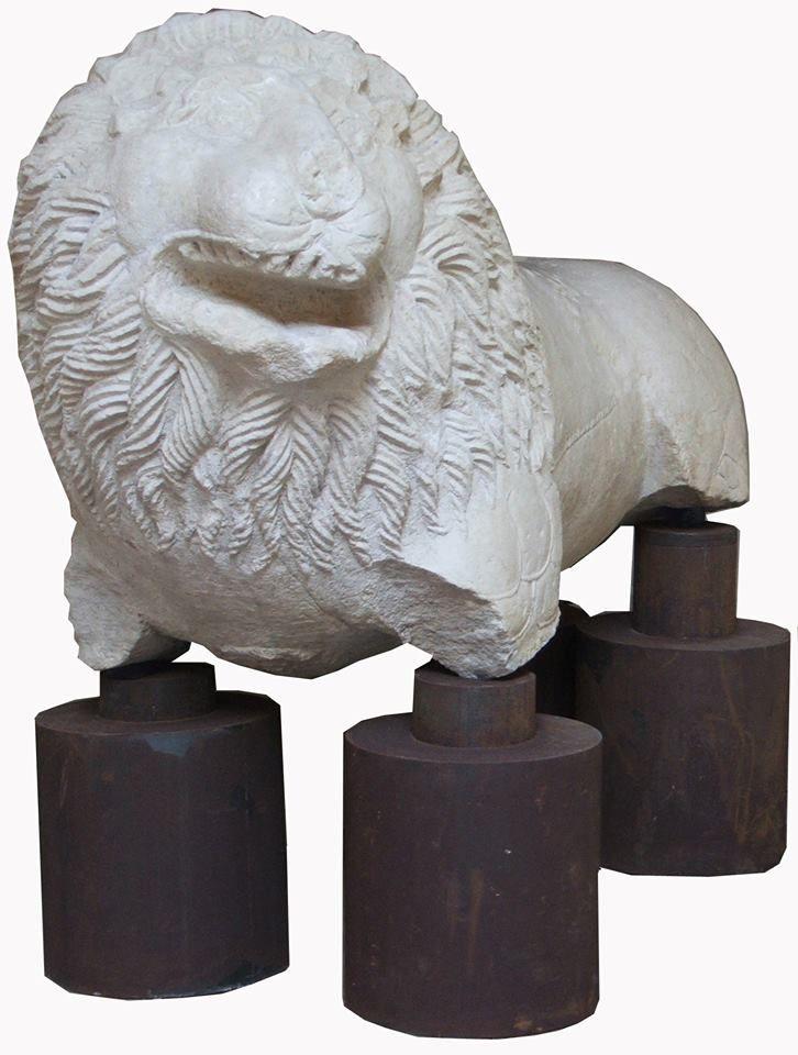 Leone funerario romano (sec. II - IV d.C.)