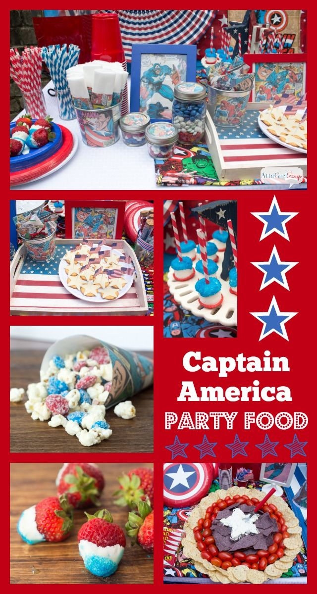 captain america 4th of july shirt