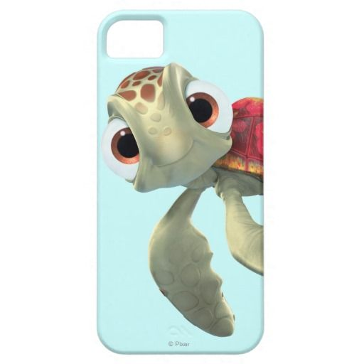 Squirt? That's one of my favorite Disney characters. I would but this for my phone, but I don't have an I phone... Yet.