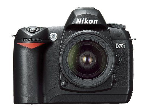 Nikon D70S 6.1MP Digital SLR Camera Kit with 18-70mm Nikkor Lens $2499.99  My baby!