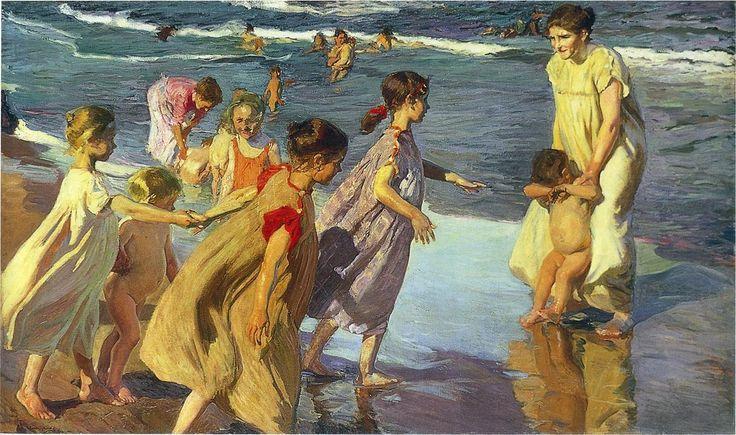 Joaquin Sorolla y Bastida >> été  |  (huile, reproduction, copie, tableau, oeuvre, peinture).