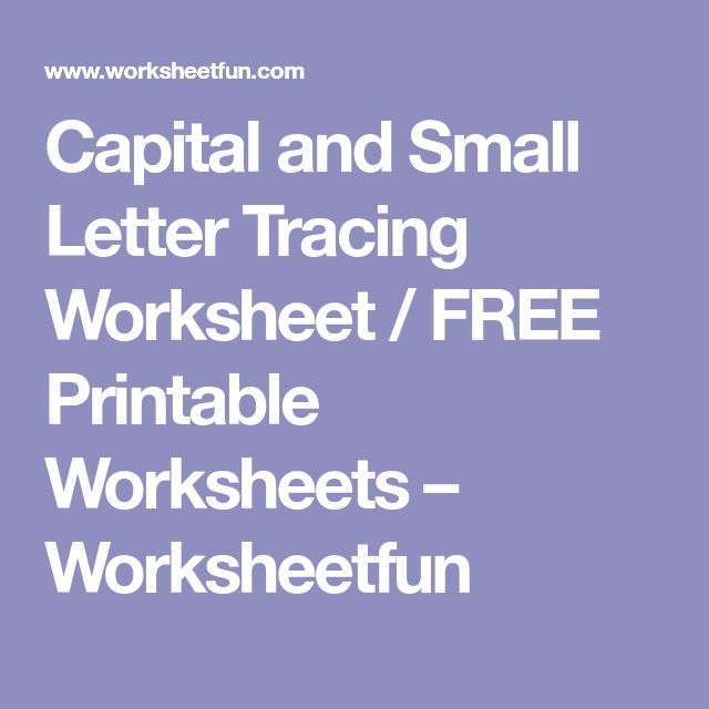 The 25+ best Letter tracing worksheets ideas on Pinterest ...