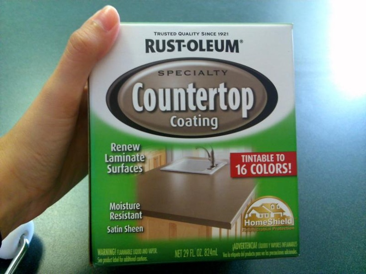 Rustoleum Countertop Paint Durability : ... images about Paint on Pinterest Stains, Paint brushes and Sprays