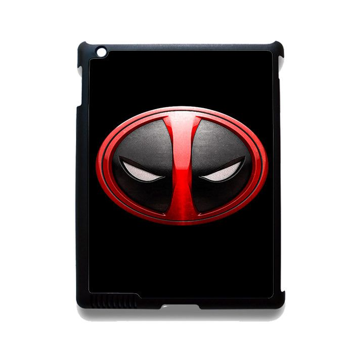 Deadpool Emblem TATUM-3096 Apple Phonecase Cover For Ipad 2/3/4, Ipad Mini 2/3/4, Ipad Air, Ipad Air 2